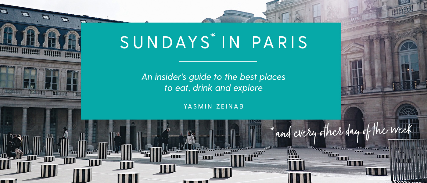 Sundays in Paris banner