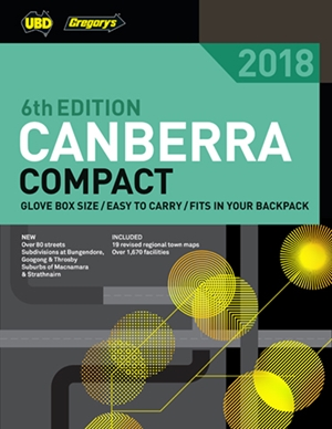 Canberra Compact Street Directory 2018 6th ed