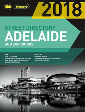 Adelaide Street Directory 2018 56th ed