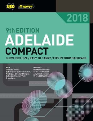 Adelaide Compact Street Directory 2018 9th ed