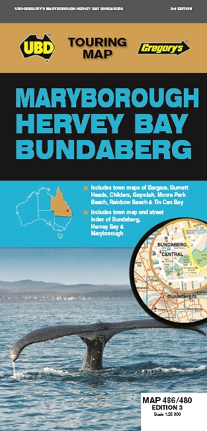 Maryborough Hervey Bay Bundaberg Map 486/480 3rd ed