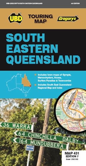 South East Queensland Map 431 7th ed