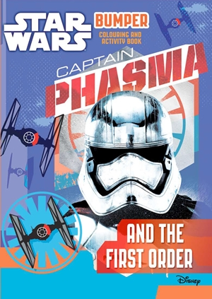 Star Wars: Bumper Colouring and Activity Book: Captain Phasma and the First Order