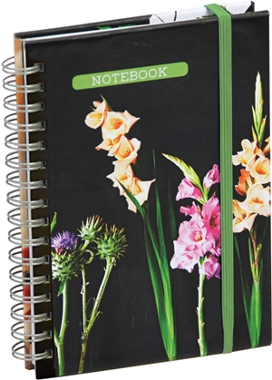 Botanical Style Mini Notebook