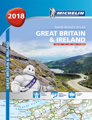 Great Britain & Ireland Atlas 2018