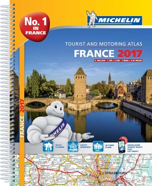 Michelin France Atlas 2017