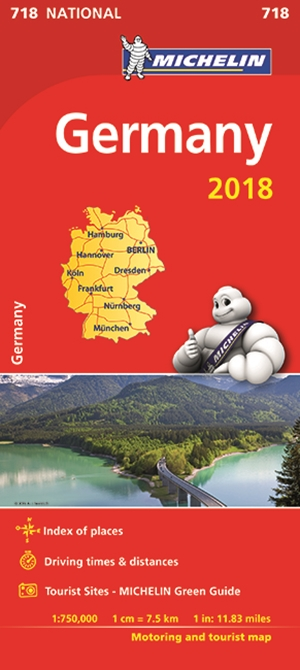 Germany Map 2018