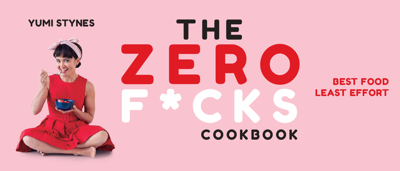 The Zero F*cks Cookbook banner