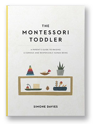 the montessori toddler book cover