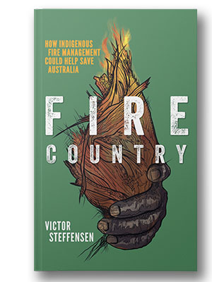 fire country book cover small