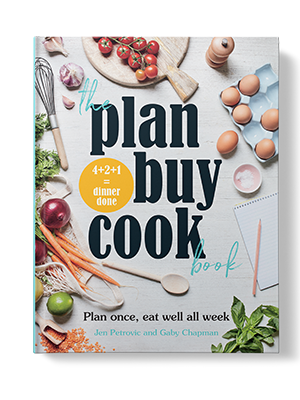 the plan buy cook book cover