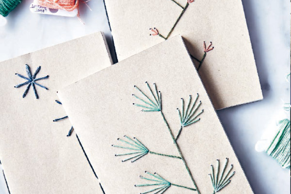 Embroidery Now: Floral Notebook Patterns