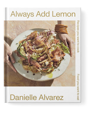 always add lemon cookbook cover
