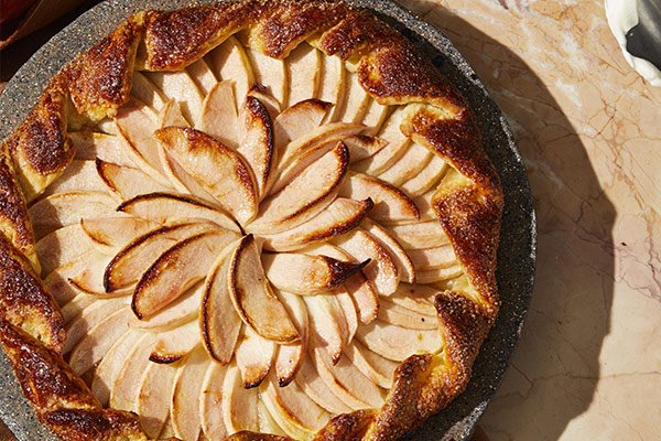 Always Add Lemon - Simple Apple Galette