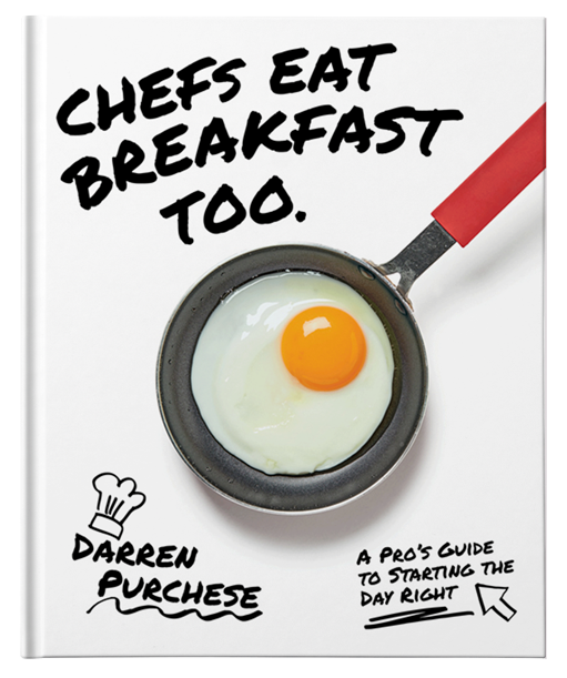chefs eat breakfast small cover image
