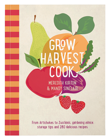Grow harvest cook book cover