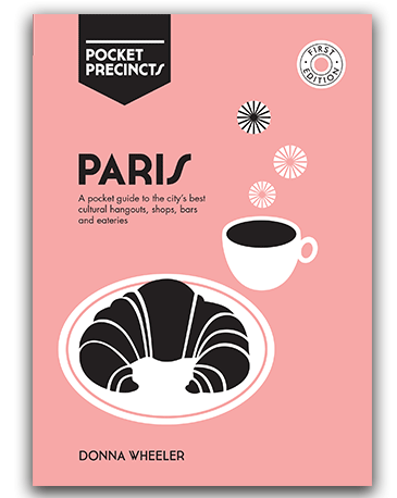 paris pocket precincts travel guide