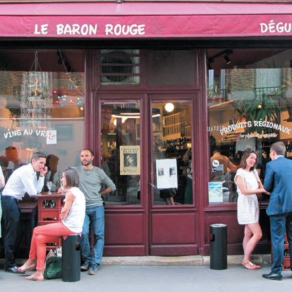 Le Rouge Baron Paris Pocket precinct