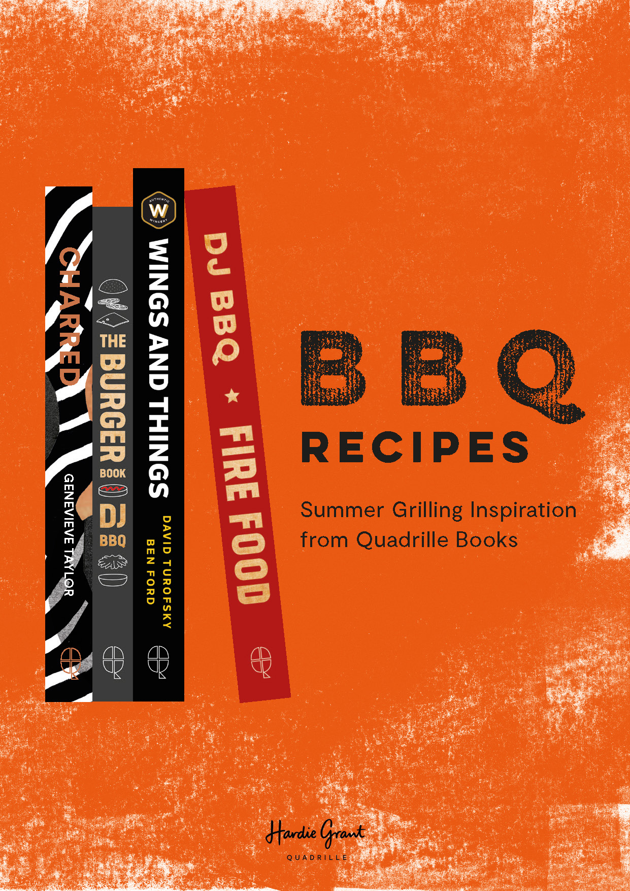 BBQ recipes from Quadrille Books