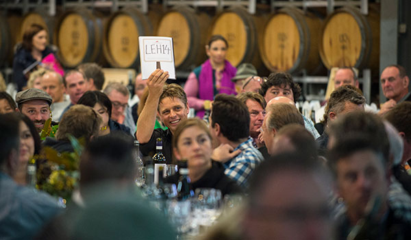 The Barossa Wine live auction and lunch