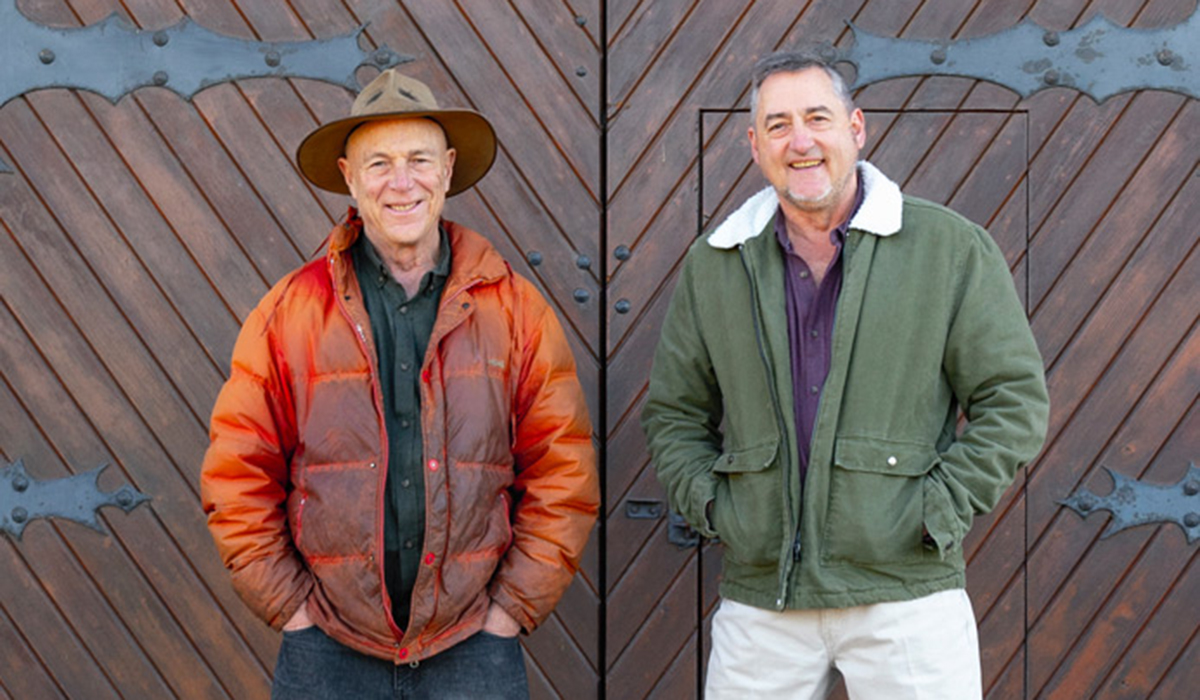 Hahndorf Hill co-owners Larry Jacobs (left) and Marc Dobson