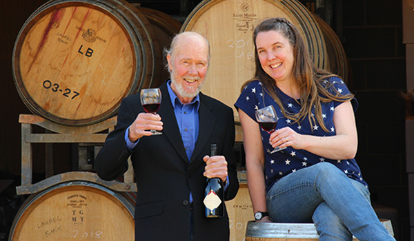 Winemaker Greer Carland of Laurel Bank and Quiet Mutiny