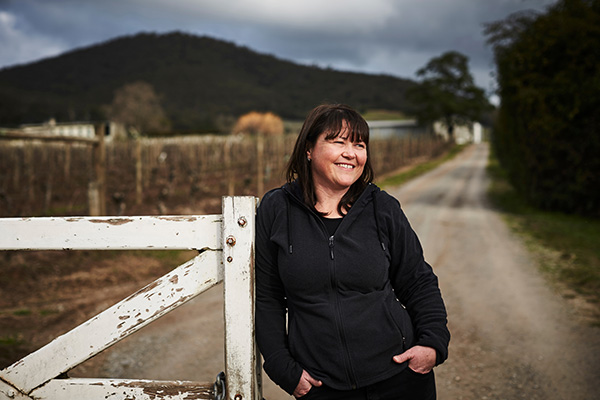 Winemaker Sarah Crowe of Yarra Yering