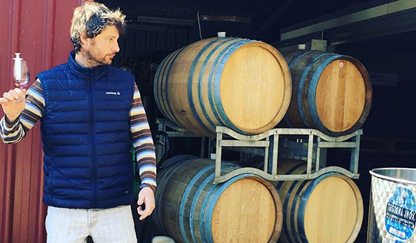 Winemaker Matt Eades of Amour Wines