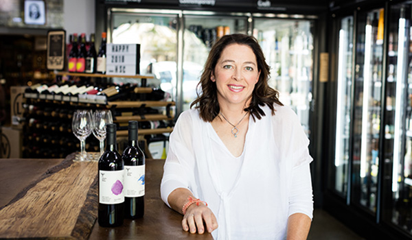 Temple Bruer winemaker Kate Wall