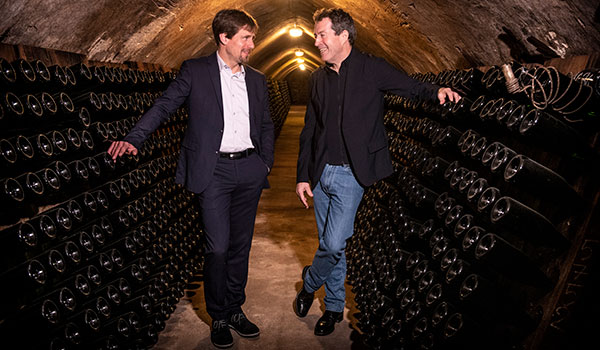 Penfolds chief winemaker Peter Gago in Champagne