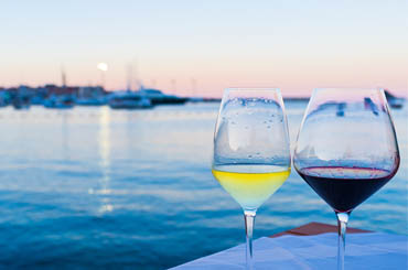 Wine is a big focus for French cruise line Ponant
