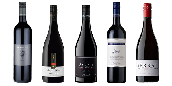 Five great bottles of red wine, chosen by James Halliday
