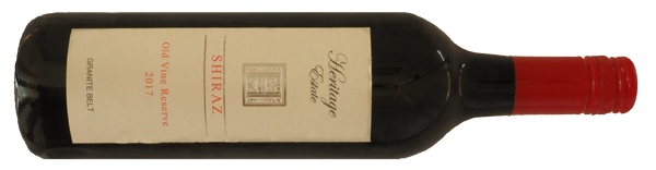 Heritage Estate Old Vines Shiraz 2017