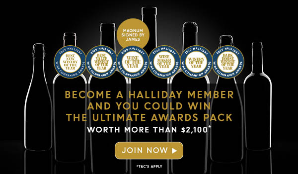Halliday Wine Companion - Win the ultimate awards pack