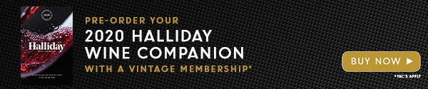 Pre-order your 2020 Halliday Wine Companion with a Vintage membership