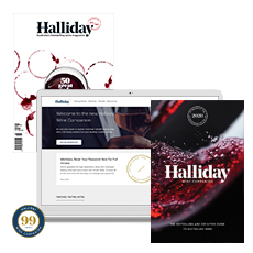 Halliday Wine Companion Vintage Membership