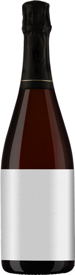 Generic Sparkling Red Bottle