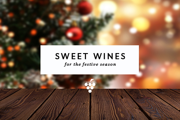 Sweet wines - Christmas tree and lights