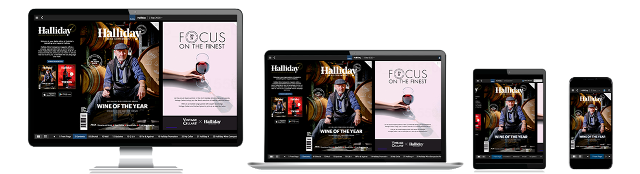 Halliday magazine on PressReader