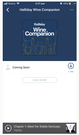 Halliday Wine Companion Podcast