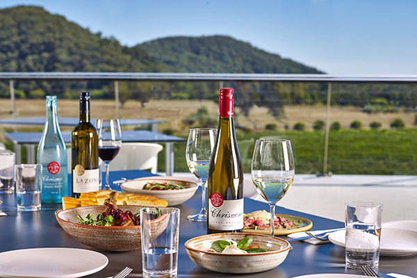 Italian food and wine at Chrismont King Valley
