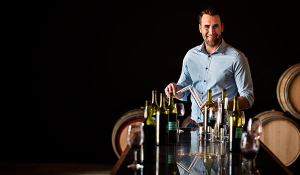 Winemaker Daniel Swincer