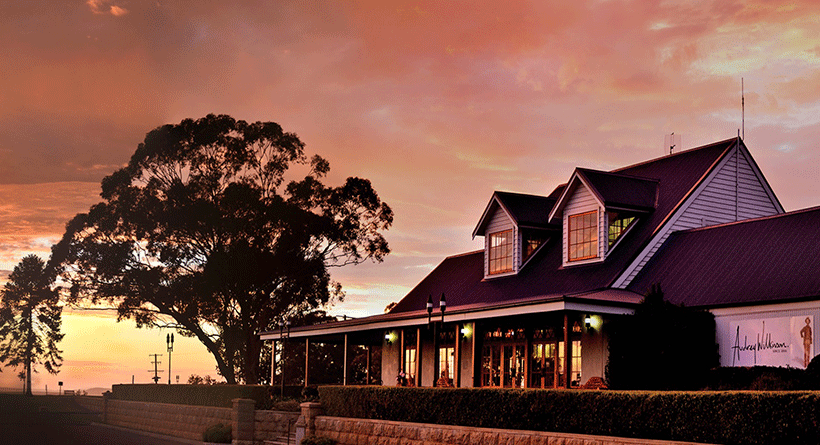 Audrey Wilkinson Cellar Door Sunset