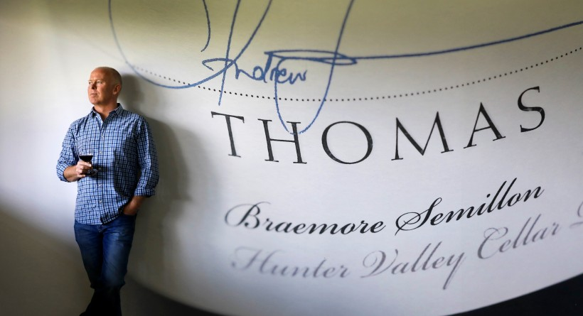 Andrew Thomas in cellar door | Thomas Wines | Halliday Wine Companion