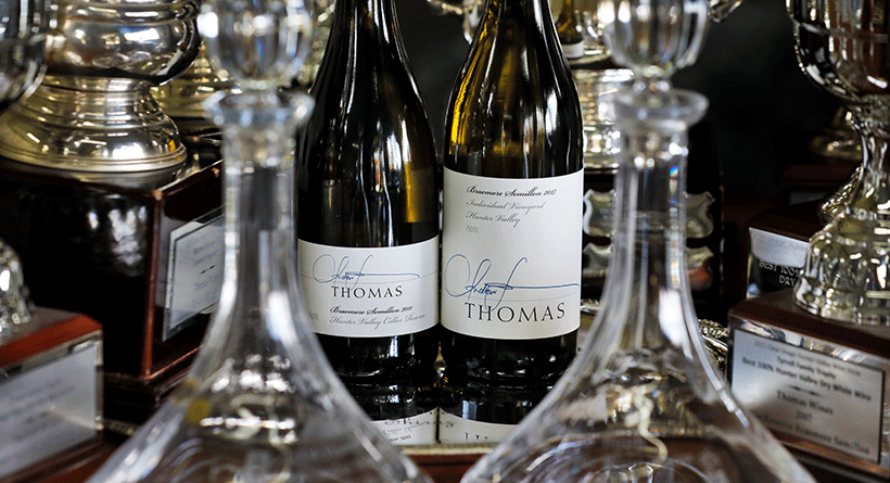 Thomas Wines Bottles