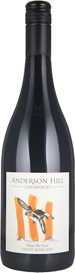 Anderson Hill 2016 Down She Goes Pinot Noir | Halliday Wine Companion