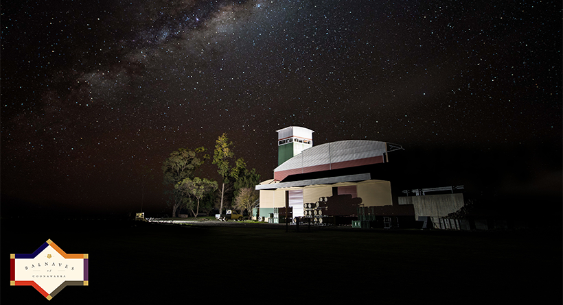 Balnaves Cellar Door at Night