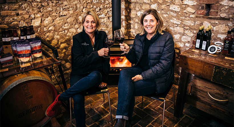 Bremerton Wines fireplace | Halliday Wine Companion