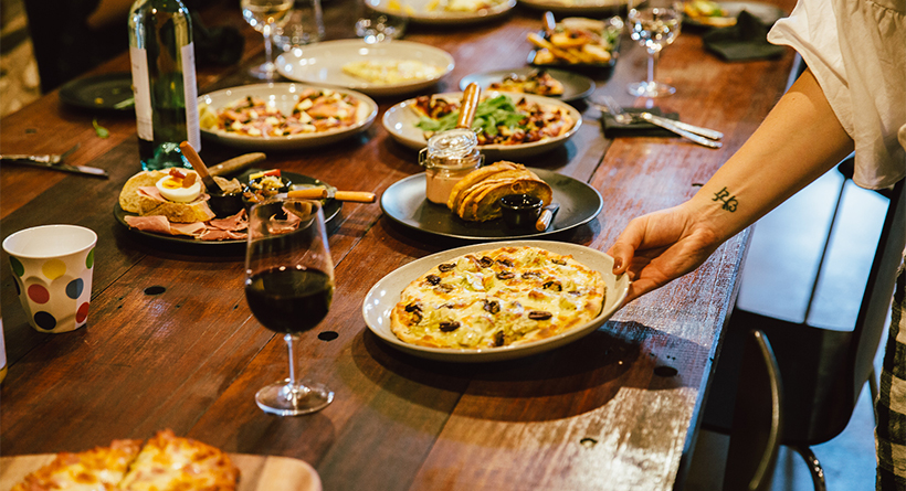 Pizza lunch at Bremerton Wines | Halliday Wine Companion