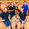 The Redman winemaking team